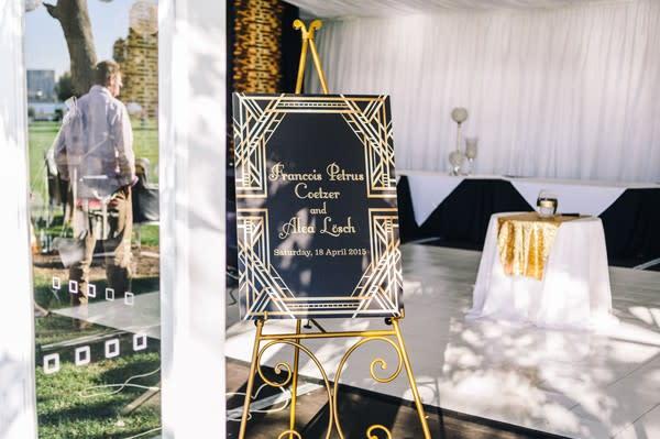 Francois Und Alea S Hochzeit Inspiriert Von Der Grosse Gatsby