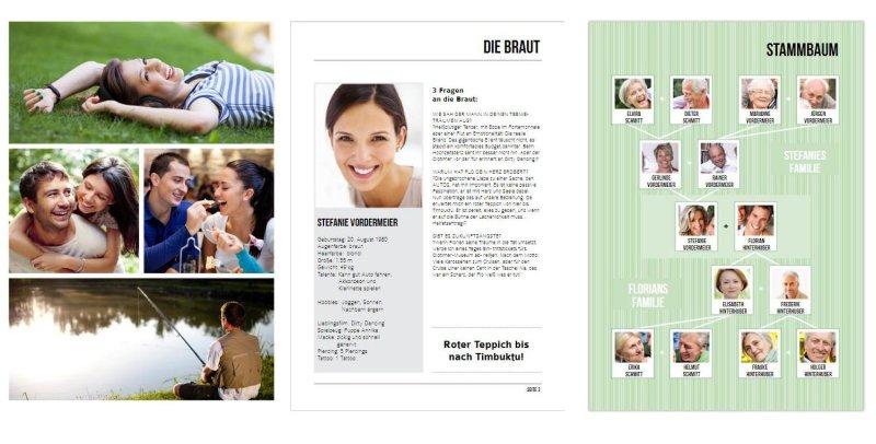 hochzeitszeitung von hochzeitsplaza4 - Hochzeitszeitung Beispiele