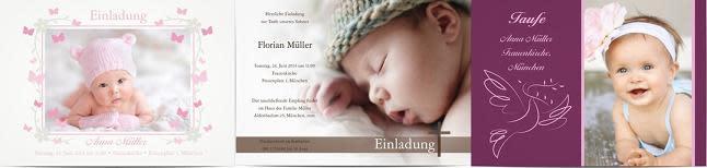 Taufeinladungen Für Gelungene Einladungskarten Zur Taufe