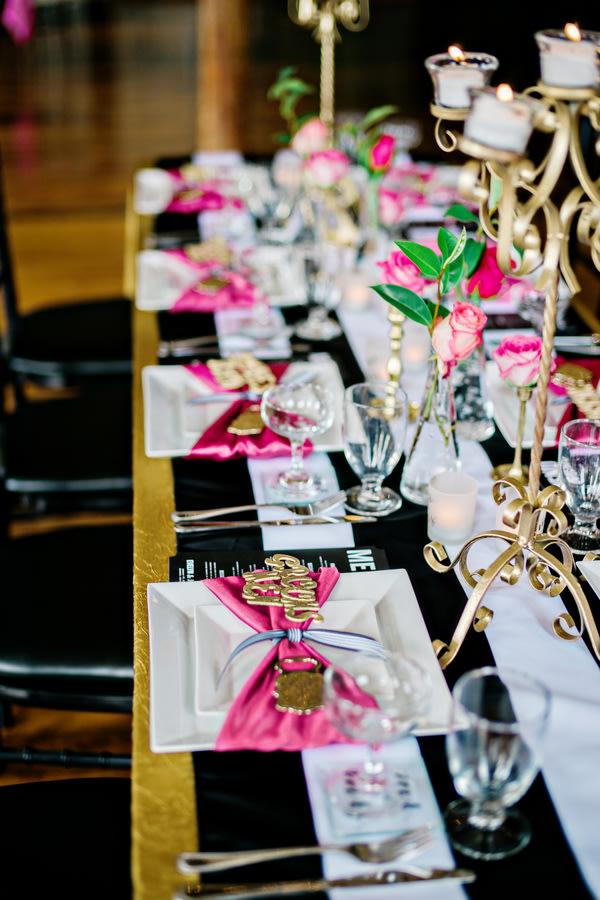 Ideen Für Eure Tischdeko In Pink
