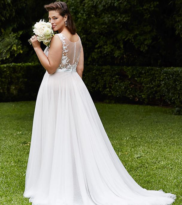 großer rabatt von 2019 bester Lieferant neue hohe Qualität Brautkleider für große Größen