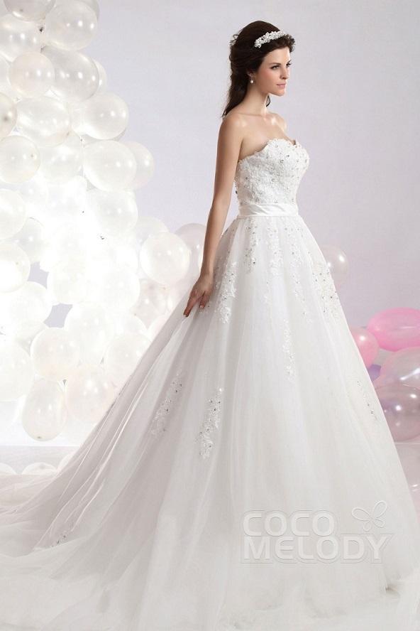 Beispiel für A-Linien Brautkleid