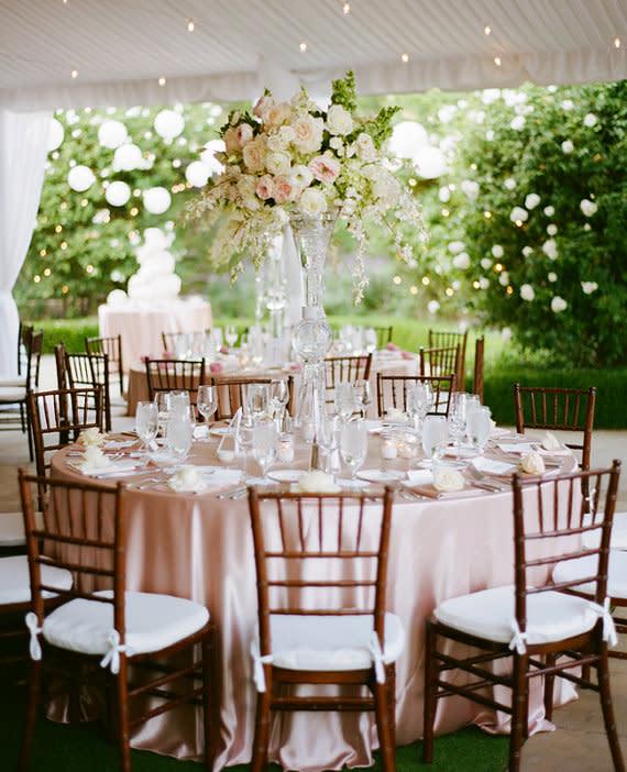Tischdeko frühling hochzeit  Beispiele für traumhafte Tischdeko zur Hochzeit nach Jahreszeiten