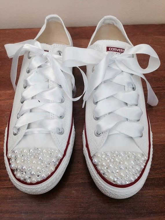 huge discount c4611 42eb1 Sneaker als Brautschuhe