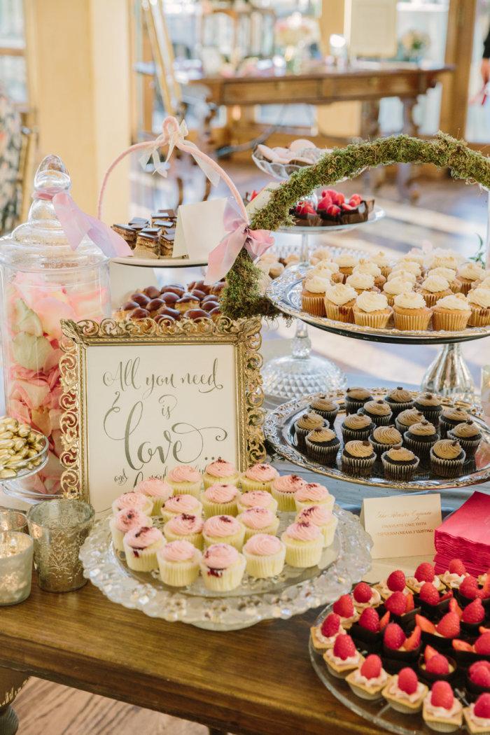 Individuelle Candy Bar Zur Hochzeit