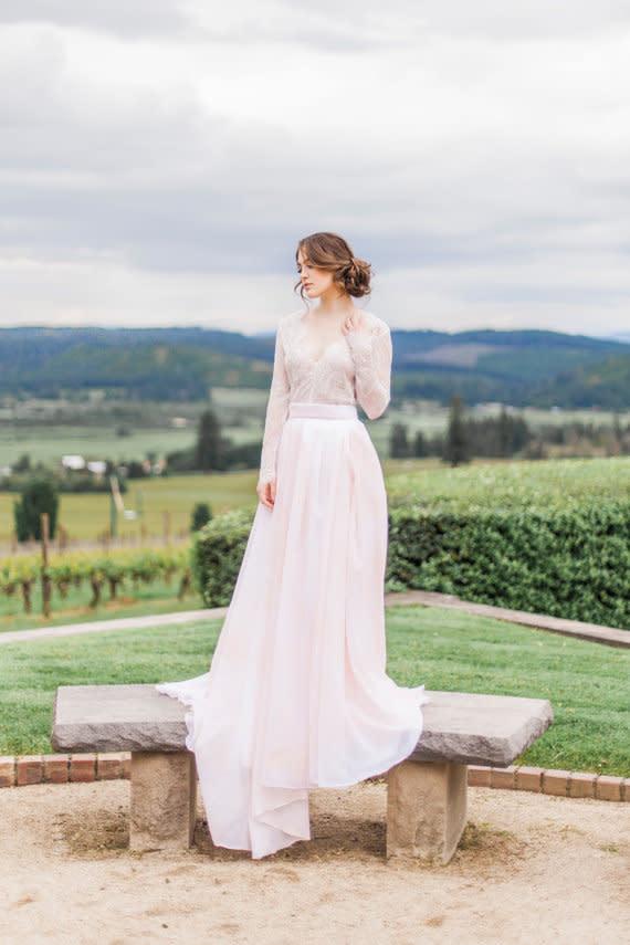 Rock & Top - Zweiteilige Brautkleider