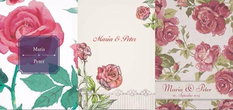 rosenhochzeit, Einladung