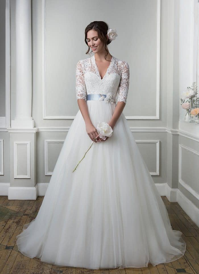 Pompose Brautkleider Aktuelle Trends