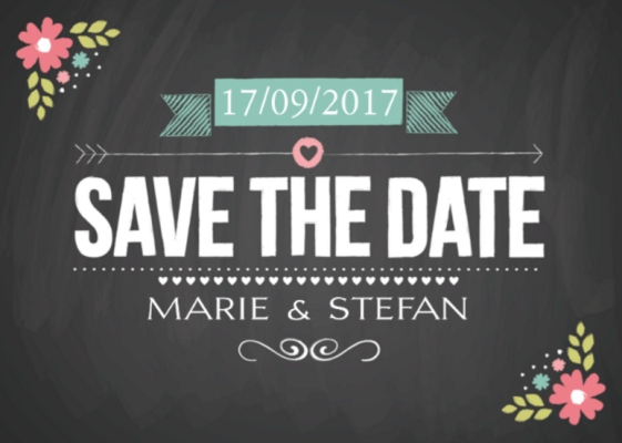 Hochzeitskarten - Save the Date Karten zur Hochzeit