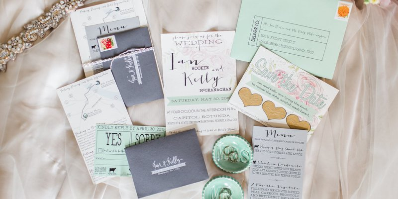 Die Ganze Hochzeitspapeterie Auf Einen Blick Hochzeitskarten Von A