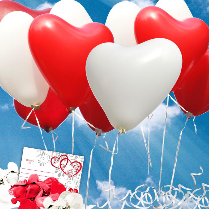 luftballons steigen lassen zur hochzeit. Black Bedroom Furniture Sets. Home Design Ideas