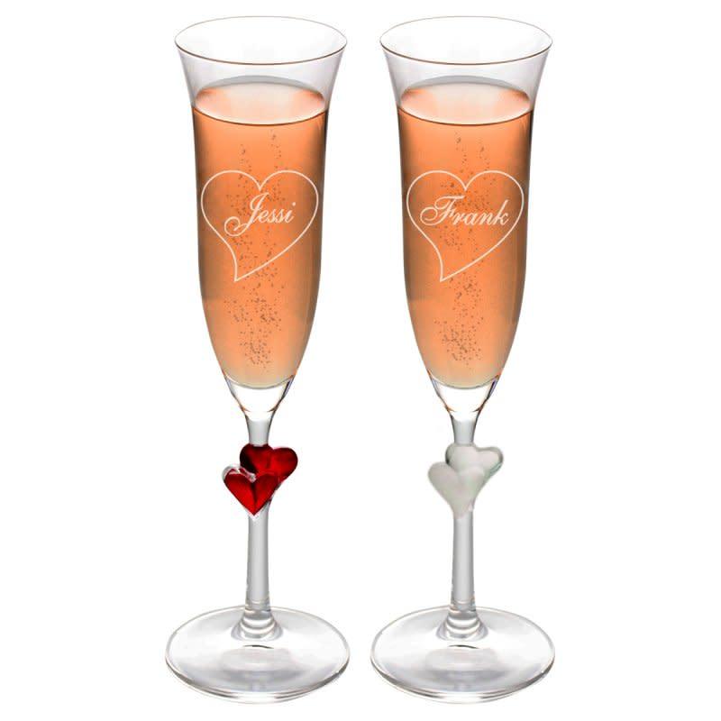 Geschenk zur Goldenen Hochzeit Nr. 15: Weindekanter mit Goldgravur