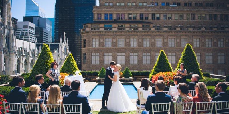 Hochzeit Uber Den Dachern Von New York Katharina Und Ralf