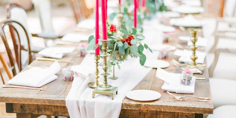 Tischdeko zur hochzeit richtig planen for Tischdeko hochzeit holz