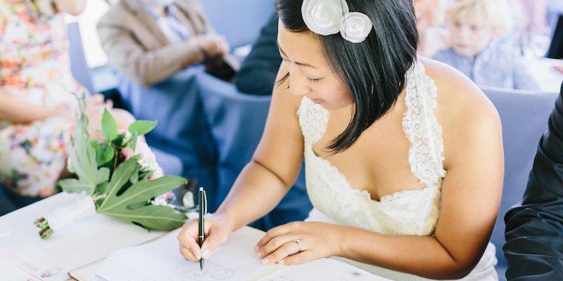 Abstammungsurkunde Hochzeit