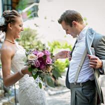Gartenhochzeit strand oder schloss der richtige for Hochzeitsanzug fliege