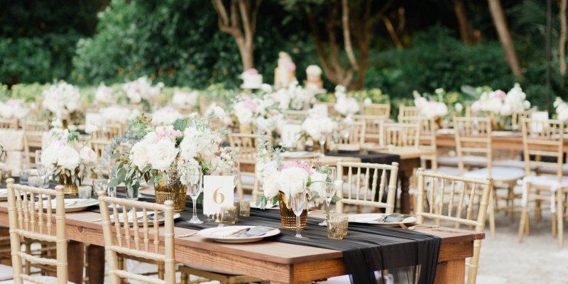 Blumen Und Hochzeitsdeko Fur Eine Stilvolle Hochzeitsfeier