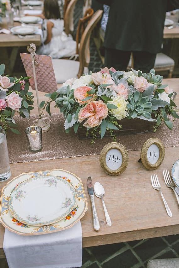 Hochzeitsdeko selber machen - Ideen für die Tischdeko