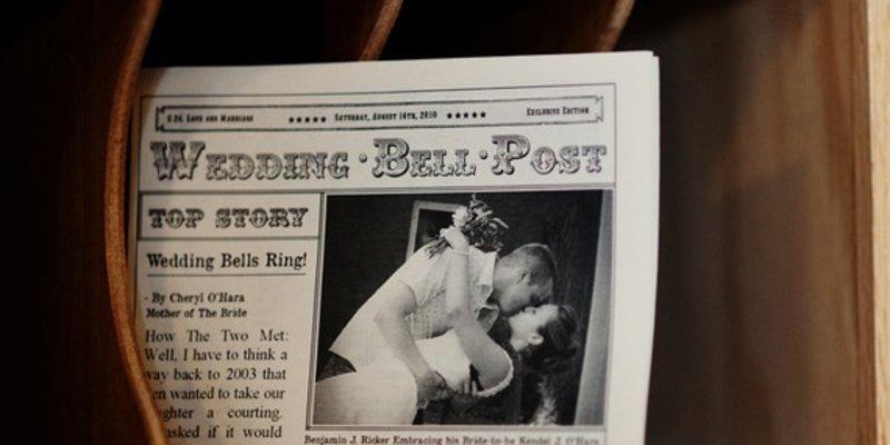 Hochzeitsanzeigen - Vorlagen
