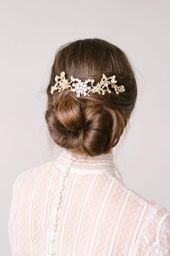 Brautfrisuren F 252 R Lange Haare
