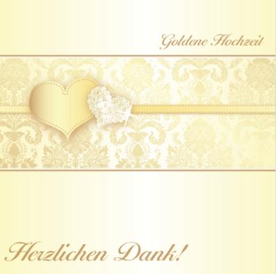 Danksagung goldene Hochzeit - Danksagungstexte zur goldenen Hochzeit