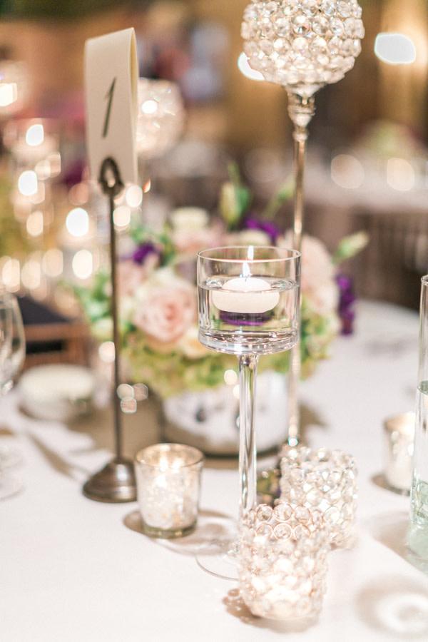 Tischdeko mit Kerzen für Eure Hochzeit