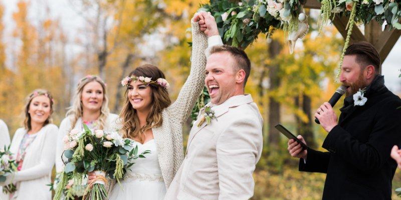 Rustikale Country Hochzeit Im Herbst Julia Und Matt