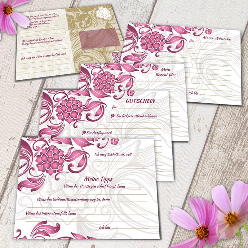 Spielidee: 52 Postkarten Hochzeit - jede Woche eine Postkarte für ...