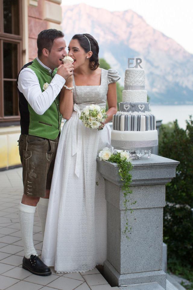 Das Dirndl als Brautkleid
