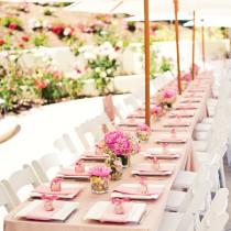Tischdeko - Tischdeko zur Hochzeit im Frühling - Mylk and Honey 4