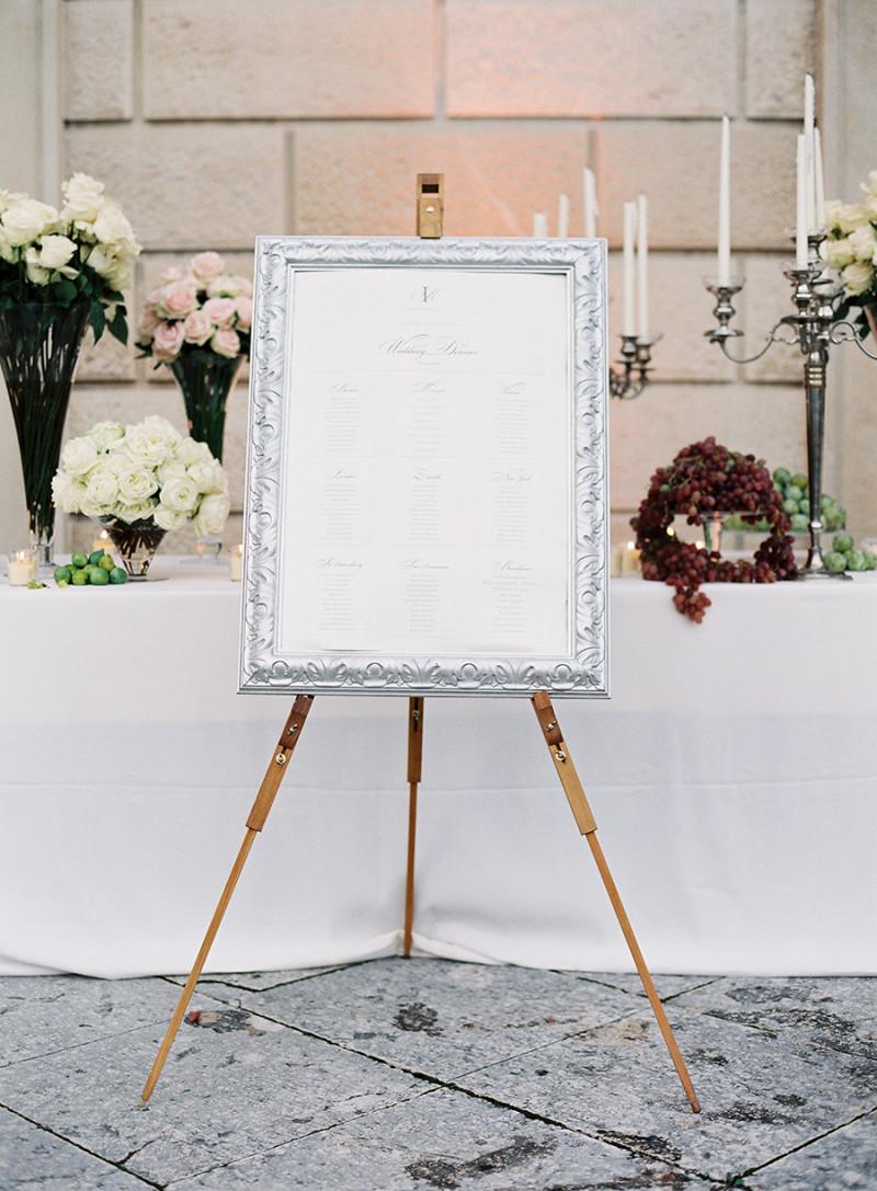 Sitzordnung Hochzeit