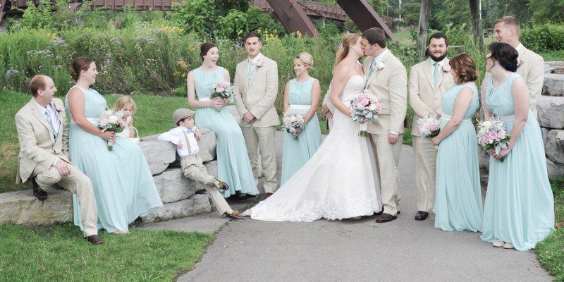Wesley Und Katelynn S Liebevolle Vintage Hochzeit