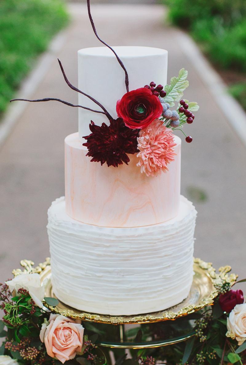 Naked Cake Zur Hochzeit Die Romantische Hochzeitstorte