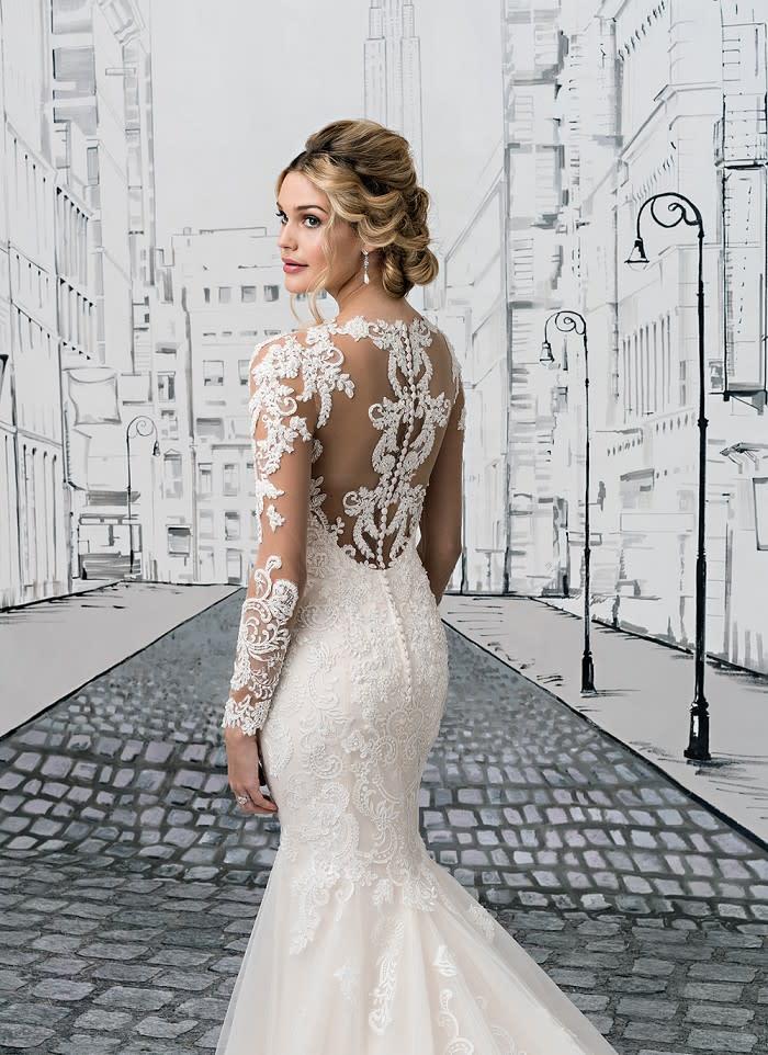 Haute Couture Spitze Brautkleid Hochzeitskleid