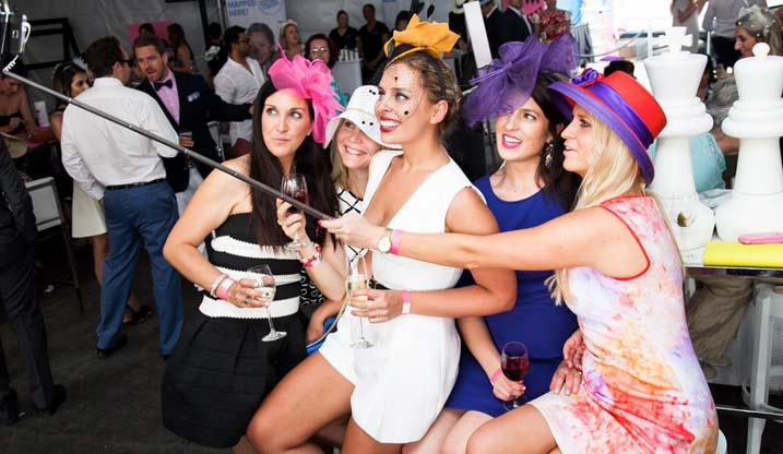 Hen Party Themes At The Races Theme The Foxy Hen