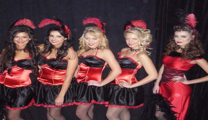 Cabaret And Burlesque Hen Party Theme