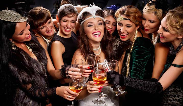 Hen Party Theme The Great Gatsby The Foxy Hen