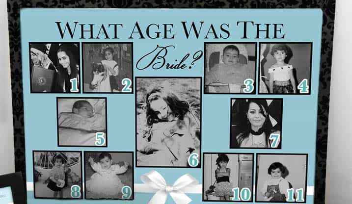 Hen Party Games What Age Was the Bride The Foxy Hen