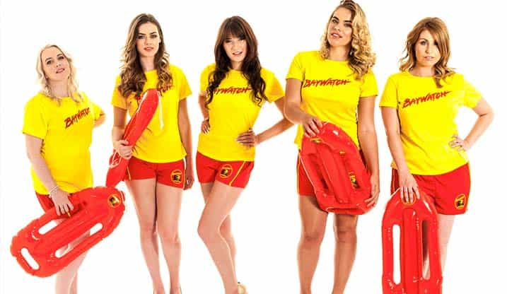 Hen Party Themes Beach Baywatch Theme The Foxy Hen