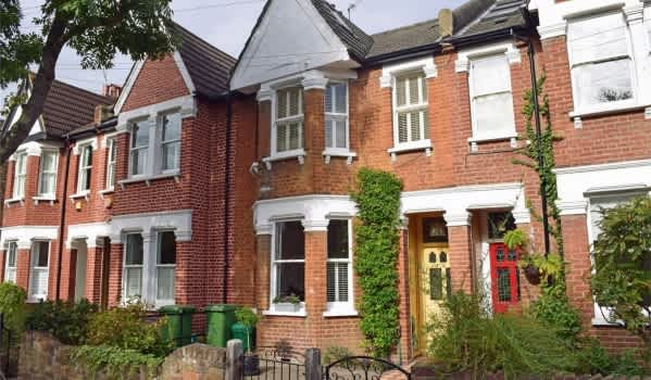 Victorian houses in St Margarets
