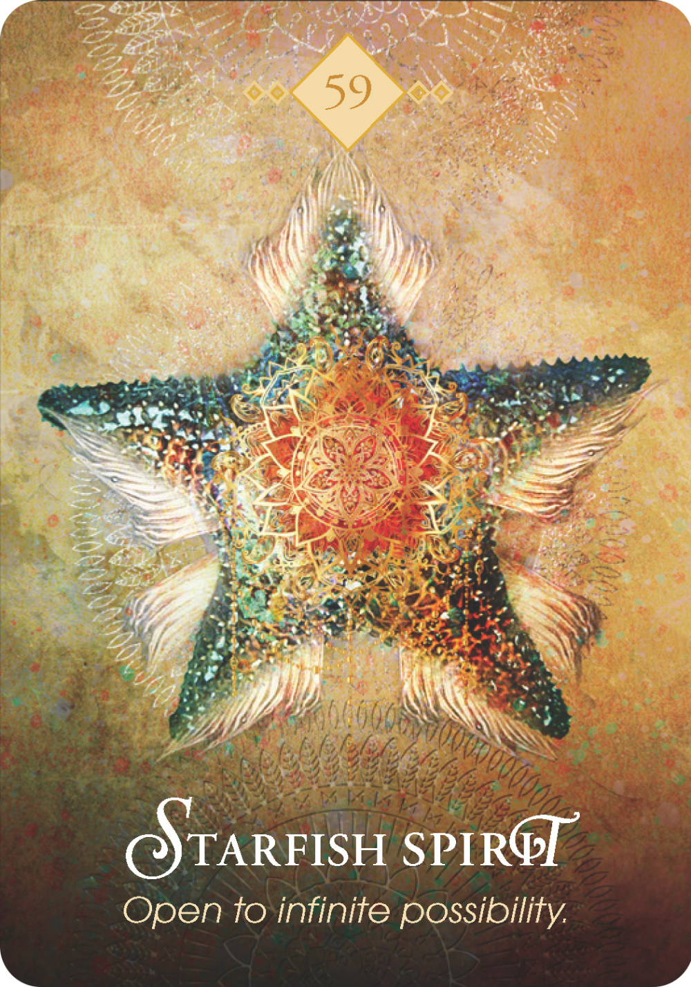 starfish tarot card