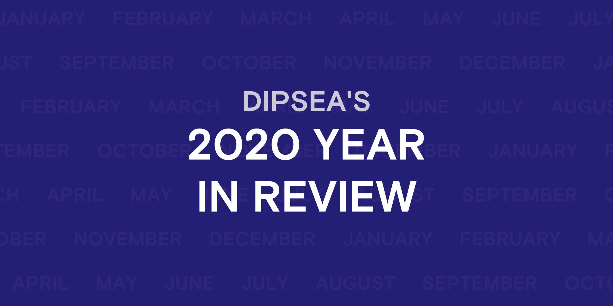 Article cover: Dipsea 2020 year in review