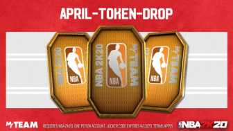 Most recent Locker Code: April Token Drop NBA 2K20 Locker Code