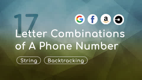 Problem 17, Letter Combinations of A Phone Number