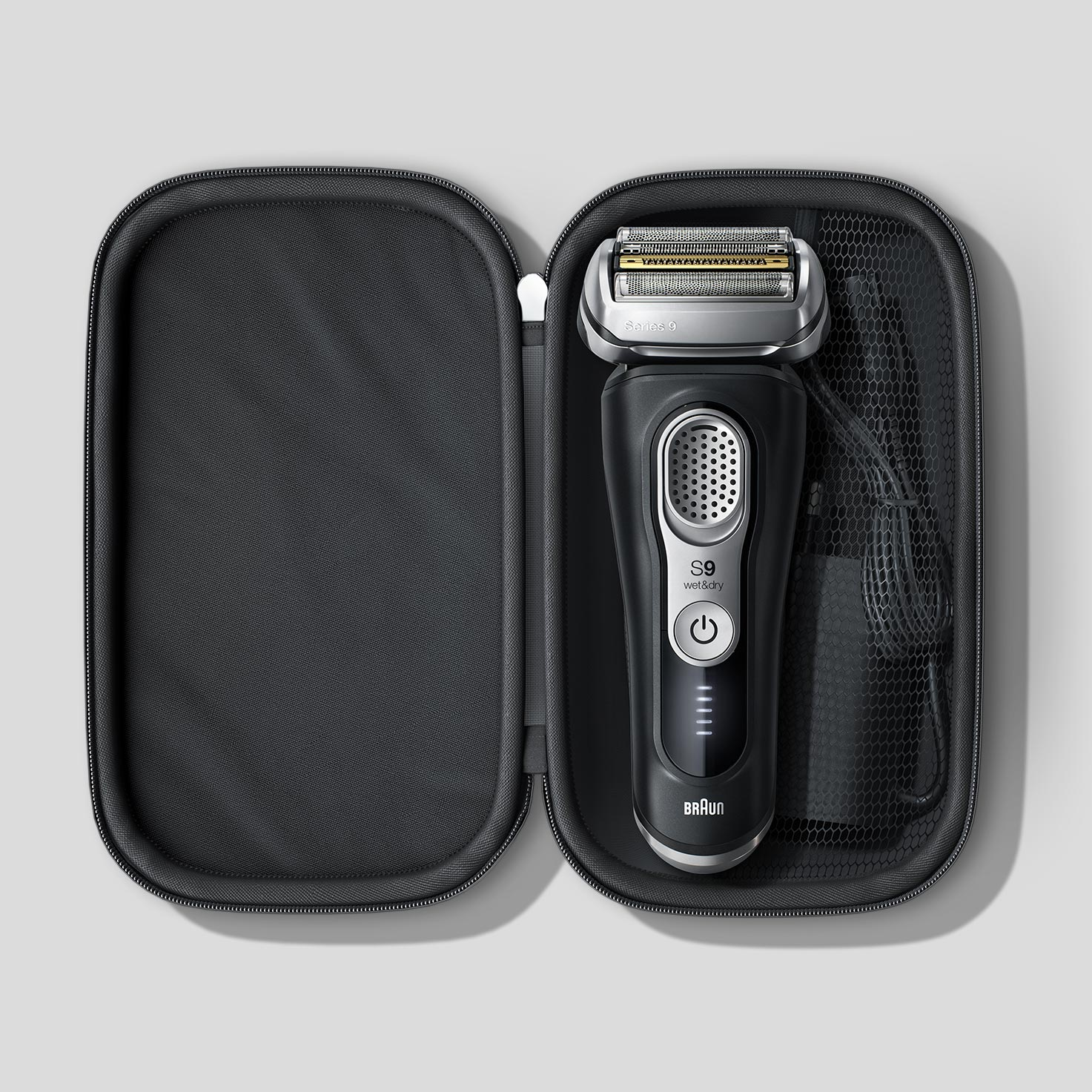 Exclusive travel case for Braun's 100 year anniversary