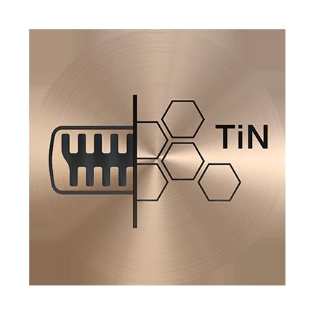Titánbevonatú trimmelő