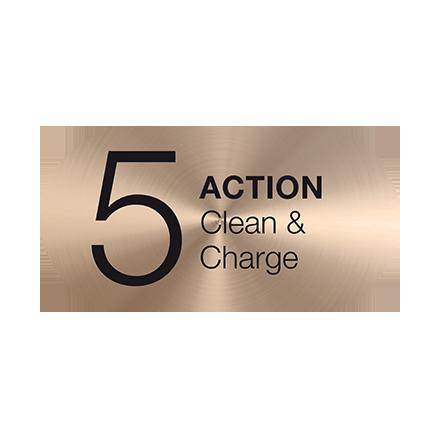 Clean&Charge tisztító- és töltőrendszer