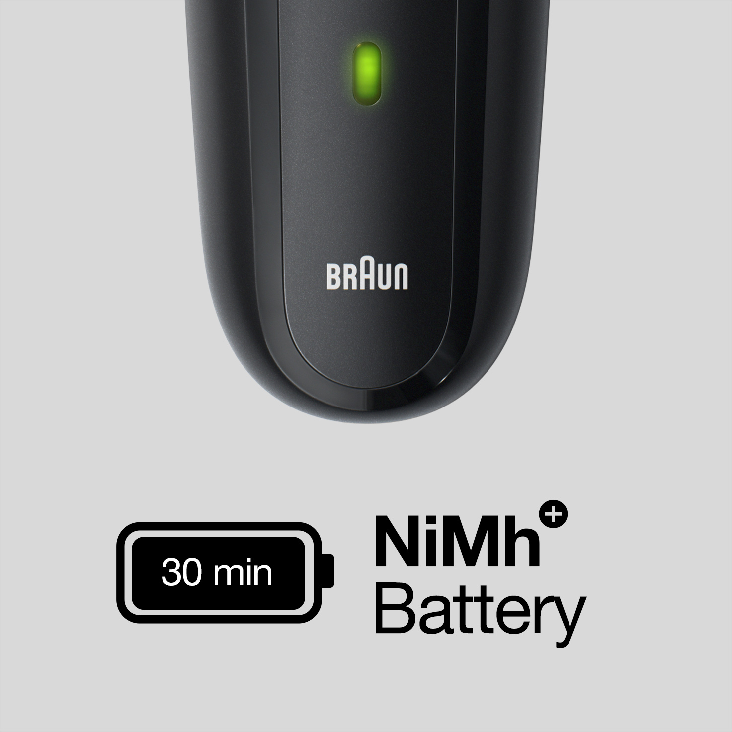 Powerful NiMh battery