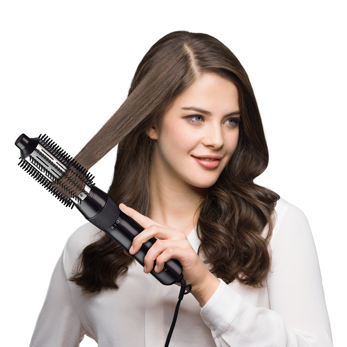 Braun Satin Hair 3 AS330 Airstyler with ceramic protection - in use