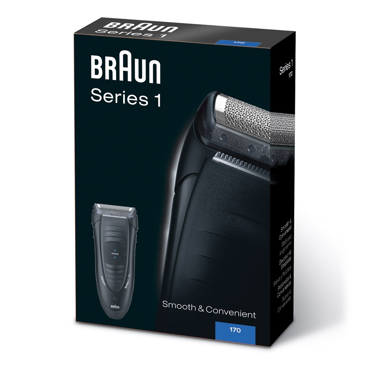 Braun Series 1 170s packaging